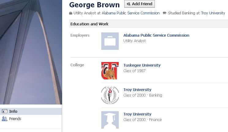 george brown Utility Analyst at Alabama Public Service Commission Montgomery Alabama
