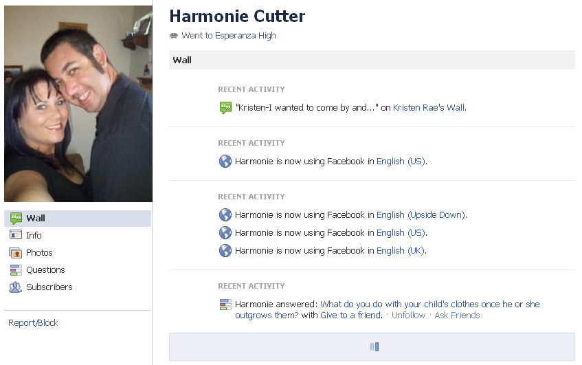Harmonie Cutter BUSTED