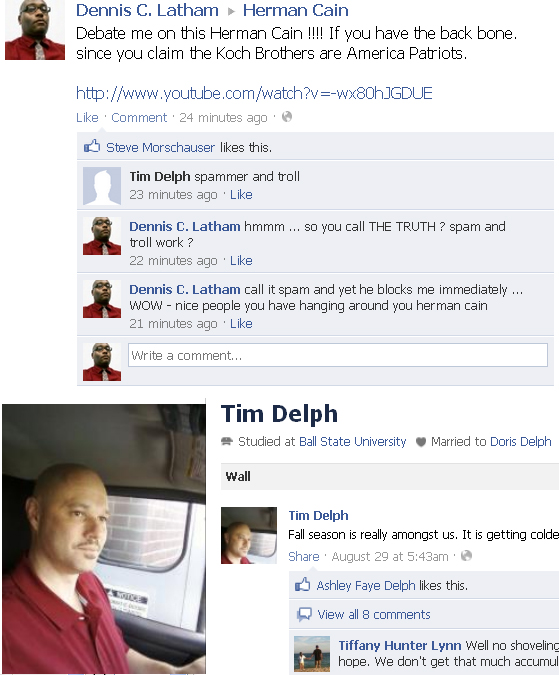 tim delph supporter of cain