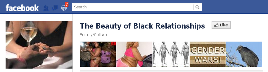 FaceBook **FRAUD** The Beauty of Black Relationships **FRAUD**