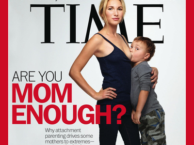 Time Magazine's Breast Feeding Cover to promote more teachers student sex and parent child sex.