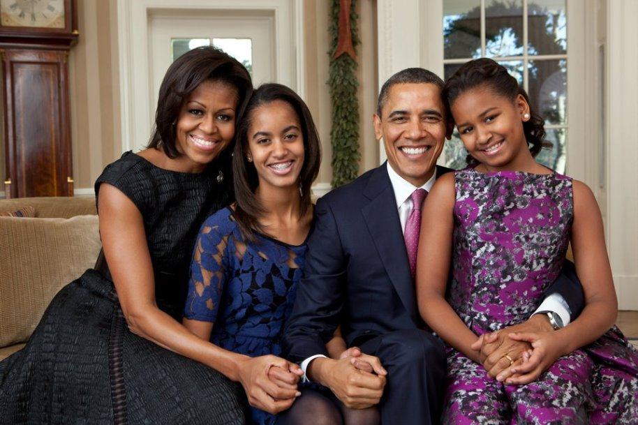 The Obama's - The worlds most Popular and Successful Black Family in The World