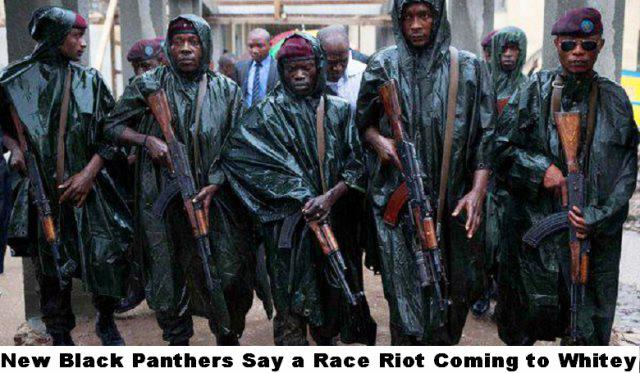 FALSE PHOTO of The New Black Panthers - used to incite and spread hatred - of blacks through right wingers