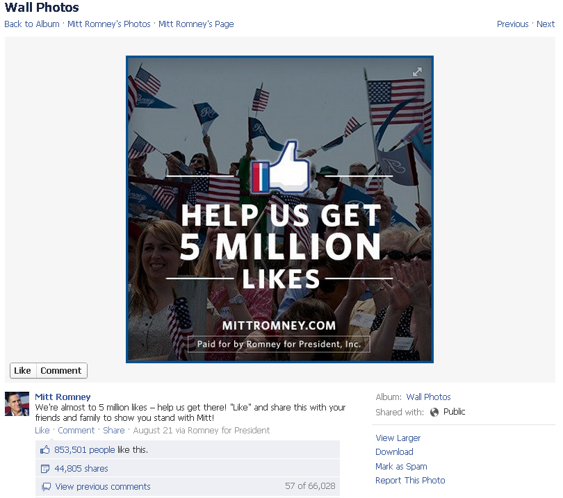 853,501 people like this - how is that almost to 5 million ?