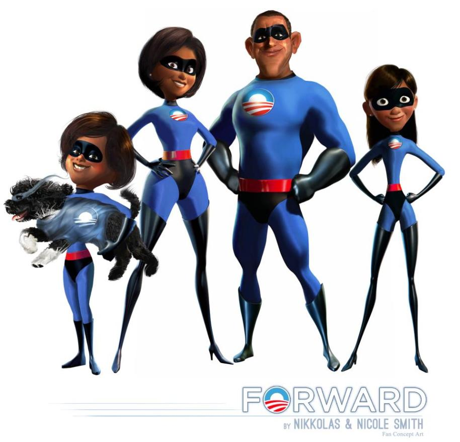 The Incredible Obama's