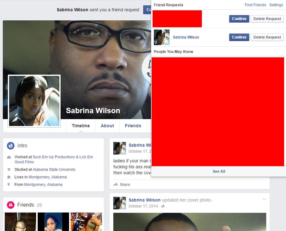 FaceBiook double standards